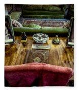 Victorian Times Fleece Blanket