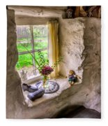 Victorian Window Fleece Blanket