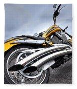 Victory Motorcycle 106 Vertical Fleece Blanket