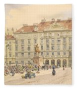 Vienna 1913 Fleece Blanket