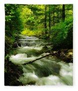 Viento Creek In June Fleece Blanket