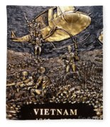 Vietnam 1961-1975 Fleece Blanket