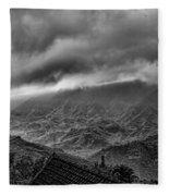 Vietnam Sapa Hills Fleece Blanket