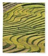 Vietnam Sapa Iv Fleece Blanket