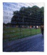 Vietnam War Memorial Fleece Blanket