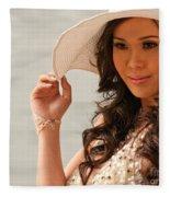 Vietnamese Bride 03 Fleece Blanket