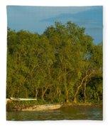 Vietnamese Fishing Fleece Blanket