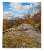 View From Eagle Cliff - Eagle Bay Ny Fleece Blanket