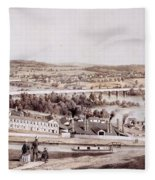 View From Gambles Hill, Richmond Fleece Blanket