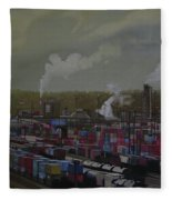 View From Viaduct Fleece Blanket