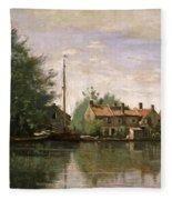 View In Holland Fleece Blanket