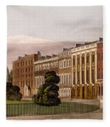 View Of Portman Square, North Side, 1816 Fleece Blanket
