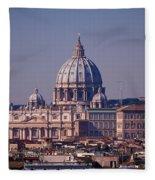 View Of Rome 2013 Fleece Blanket
