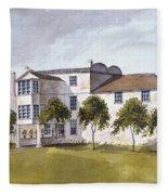 View Of Sir Noel De Carons House, 1809 Wc On Paper Fleece Blanket