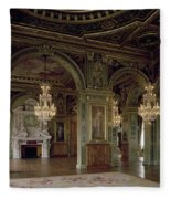 View Of The Salle Des Arts, After 1871 Photo Fleece Blanket