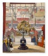View Of The Zollyverein Musical Fleece Blanket