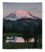 View To Be Shared Fleece Blanket