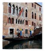 Views Of Venice Fleece Blanket