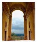 Villa Deste Tivoli Italy Fleece Blanket