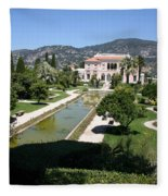 Villa Ephrussi De Rothschild And Garden Fleece Blanket