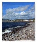 Village By The Sea - County Kerry - Ireland Fleece Blanket
