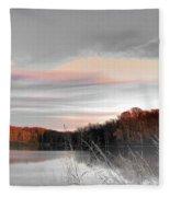 Village Creek Ar Morning Fleece Blanket