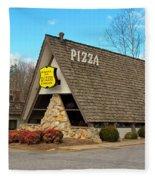 Village Inn Pizza Fleece Blanket