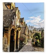 Village Of Winchcombe Fleece Blanket