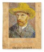 Vincent Van Gogh 1 Fleece Blanket