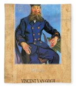 Vincent Van Gogh 7 Fleece Blanket