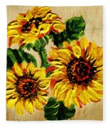 Vincent Van Gogh Would Cry  Fleece Blanket