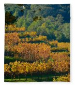 Vineyard Fall Fleece Blanket