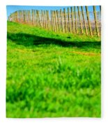 Vineyard Path 22628 Fleece Blanket