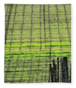 Vineyard Poles 23051 2 Fleece Blanket