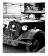 Vintage Autocar II Fleece Blanket