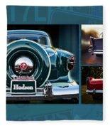 Vintage Automobiles Fleece Blanket