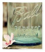 Vintage Ball Perfect Mason Fleece Blanket