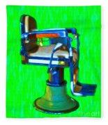 Vintage Barber Chair - 20130119 - V2 Fleece Blanket