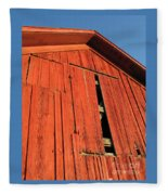 Vintage Barn Aglow Fleece Blanket