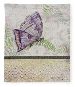 Vintage Butterfly-jp2568 Fleece Blanket