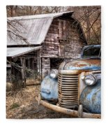 Vintage Chevrolet Fleece Blanket