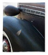 Vintage Chrysler Automobile Poster Look I Usa Fleece Blanket