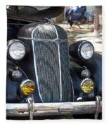 Vintage Chrysler Automobile Poster Look IIi Usa Fleece Blanket