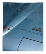 Vintage Corvette 6 Fleece Blanket