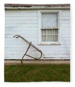 Vintage Farm Tool By Farmhouse Fleece Blanket