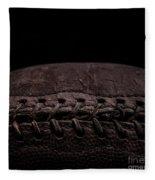 Vintage Football Square Format Fleece Blanket