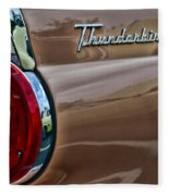 Vintage Ford Thunderbird Fleece Blanket
