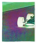 Vintage Formula 1 Race Fleece Blanket