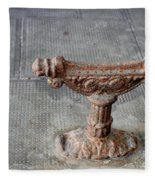 Vintage Iron Work Fleece Blanket