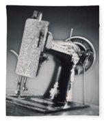 Vintage Machine Fleece Blanket